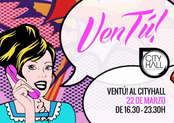 VenTú! al CityHall con Essential Abstracts