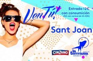 VenTú! a la Terrrazza Especial Sant Joan